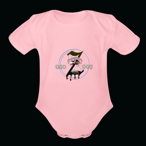 RadBoyz - Organic Short Sleeve Baby Bodysuit