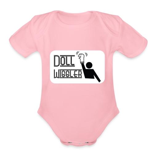 Doll Wiggler - Puppet Shirt - Organic Short Sleeve Baby Bodysuit