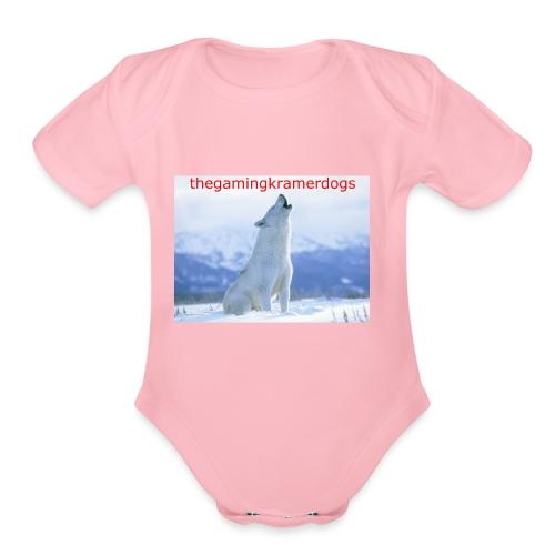 originail logo - Organic Short Sleeve Baby Bodysuit