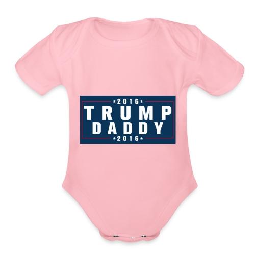 Trump - Organic Short Sleeve Baby Bodysuit