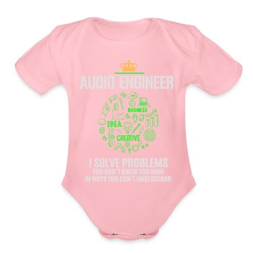 AUDIO ENGINEER - Organic Short Sleeve Baby Bodysuit