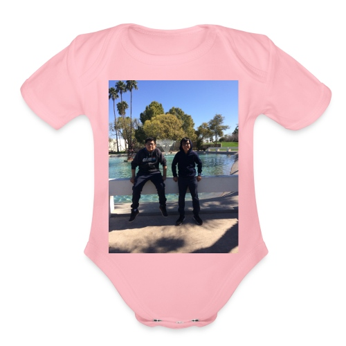 DDA457CA 8017 416C A815 78B1C1CBDFBF - Organic Short Sleeve Baby Bodysuit