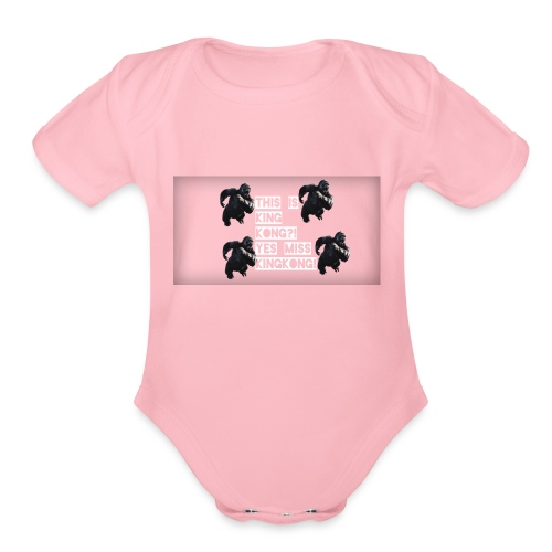 KINGKONG! - Organic Short Sleeve Baby Bodysuit