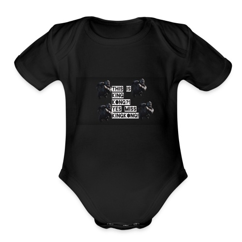 KINGKONG! - Organic Short Sleeve Baby Bodysuit
