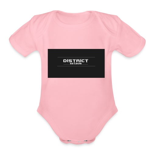 District apparel - Organic Short Sleeve Baby Bodysuit