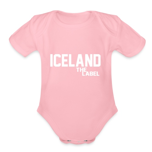iceland_the_label_printable - Organic Short Sleeve Baby Bodysuit