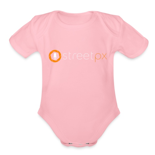 Official StreetPX Tee - Organic Short Sleeve Baby Bodysuit