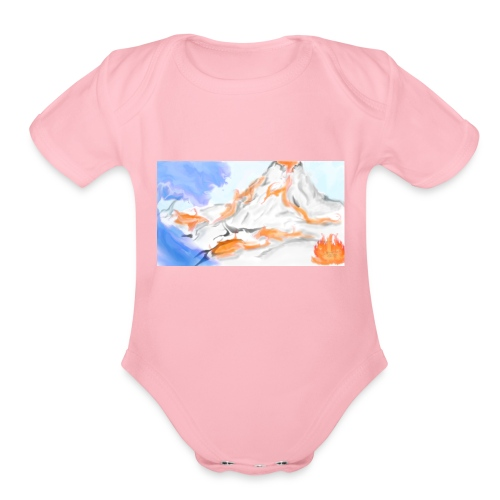 Land - Organic Short Sleeve Baby Bodysuit