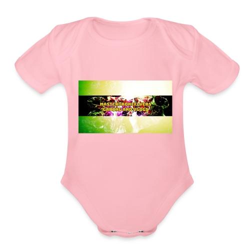 FotoJet_Design - Organic Short Sleeve Baby Bodysuit