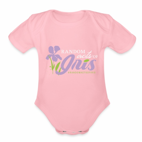Random Acts of Iris - Organic Short Sleeve Baby Bodysuit