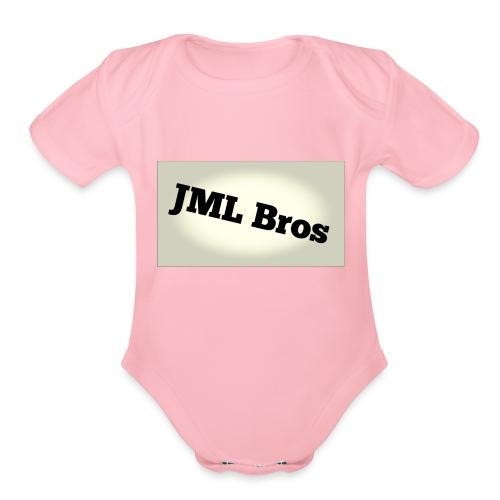 JML fading - Organic Short Sleeve Baby Bodysuit