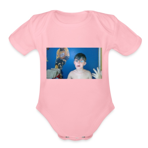 WIN 20180418 19 50 13 Pro - Organic Short Sleeve Baby Bodysuit