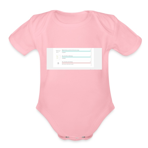 bulk_upload - Organic Short Sleeve Baby Bodysuit