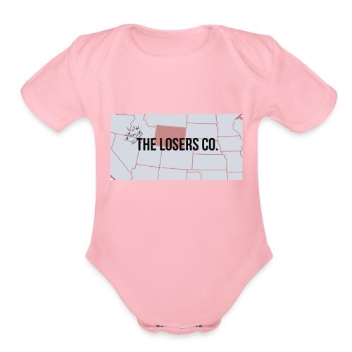 The Loser Co. 7King - Organic Short Sleeve Baby Bodysuit