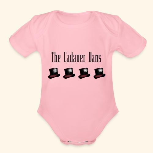 The Cadaver Dans - Organic Short Sleeve Baby Bodysuit