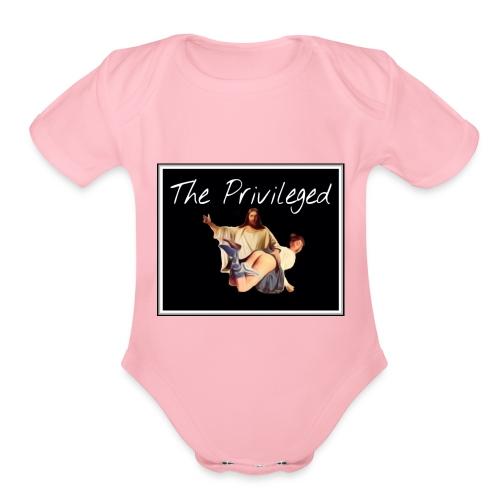 The Privileged - Organic Short Sleeve Baby Bodysuit