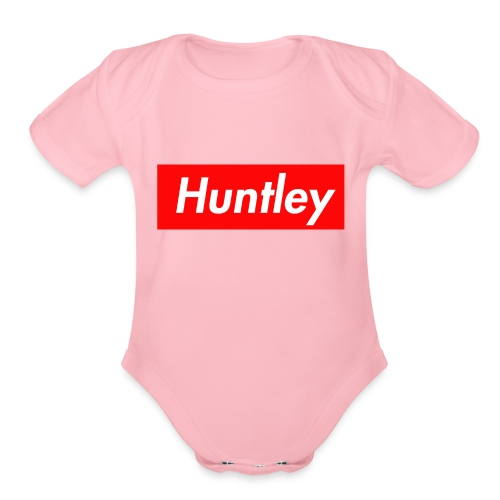 hunt - Organic Short Sleeve Baby Bodysuit