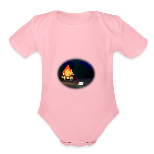 'Round the Campfire - Organic Short Sleeve Baby Bodysuit
