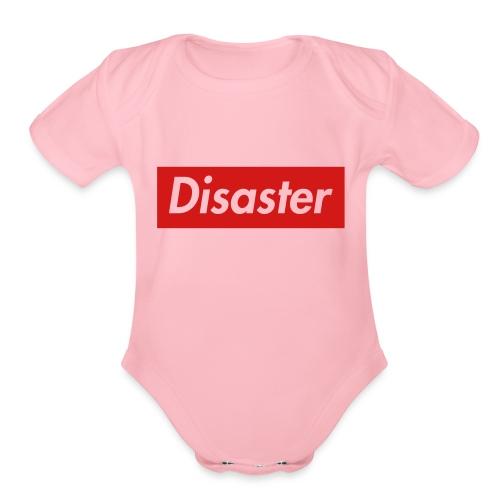 A Supreme Disaster - Organic Short Sleeve Baby Bodysuit