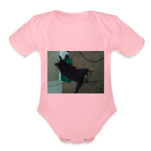 David's - Organic Short Sleeve Baby Bodysuit