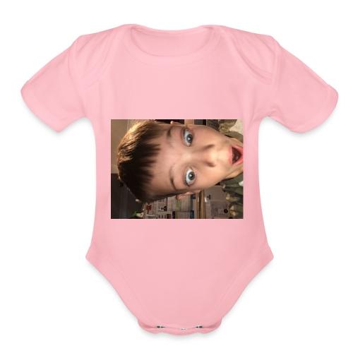 image - Organic Short Sleeve Baby Bodysuit