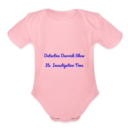DDS - Organic Short Sleeve Baby Bodysuit