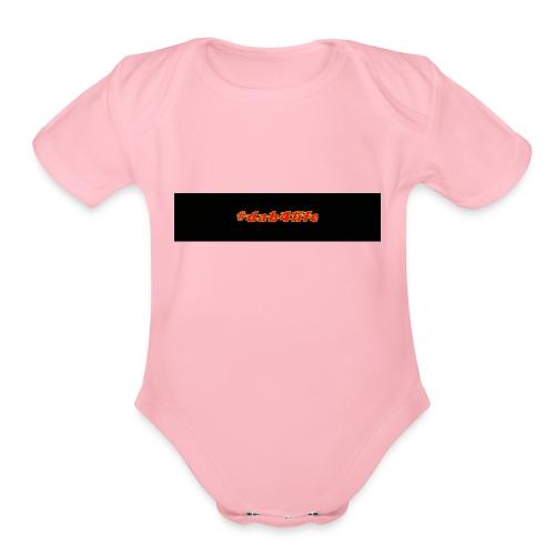 Dab4life - Organic Short Sleeve Baby Bodysuit