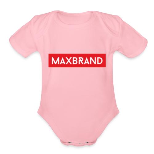 FF22A103 707A 4421 8505 F063D13E2558 - Organic Short Sleeve Baby Bodysuit