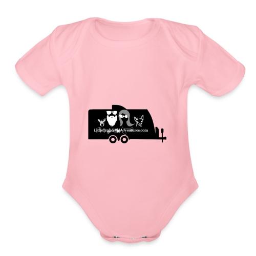 LTBA Trailer - Organic Short Sleeve Baby Bodysuit