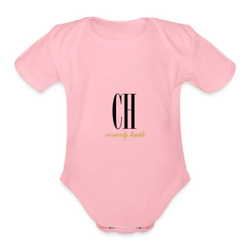 Comedy Hustle gear - Organic Short Sleeve Baby Bodysuit