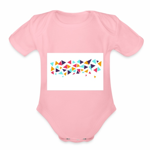 T shirt - Organic Short Sleeve Baby Bodysuit