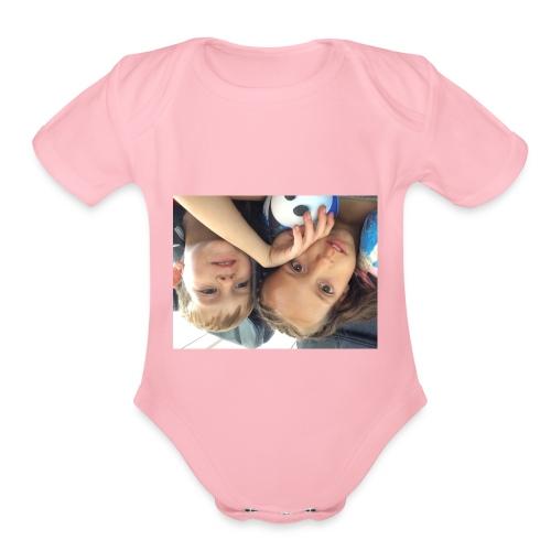 IMG 6023 - Organic Short Sleeve Baby Bodysuit