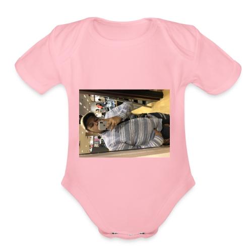 Spring - Organic Short Sleeve Baby Bodysuit