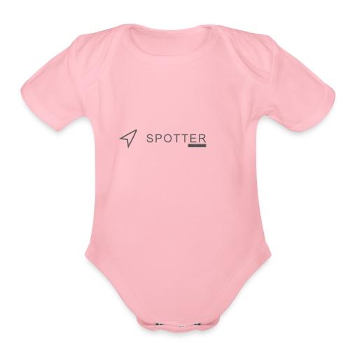 Spotter Tees - Organic Short Sleeve Baby Bodysuit