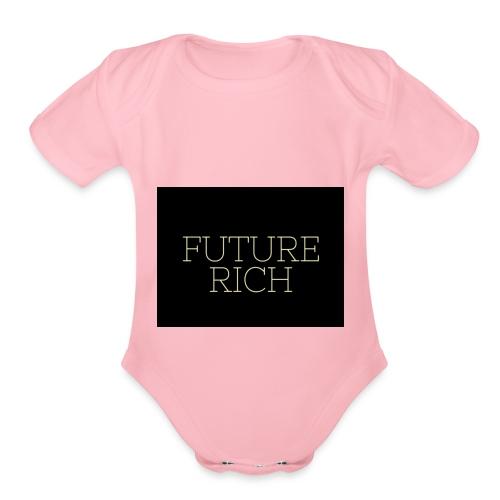Rich Ruture - Organic Short Sleeve Baby Bodysuit