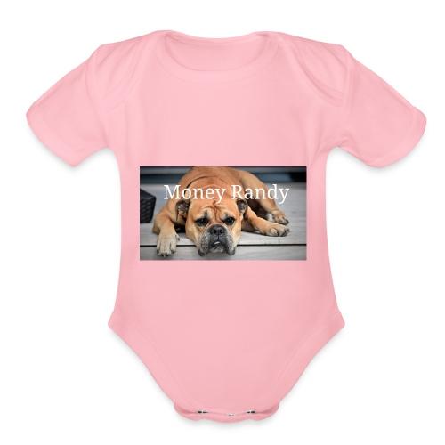 Love dogs - Organic Short Sleeve Baby Bodysuit