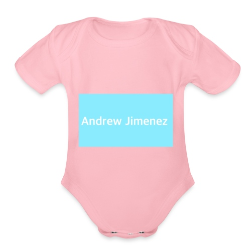 I'm Andrew and I love to sing and do diy - Organic Short Sleeve Baby Bodysuit