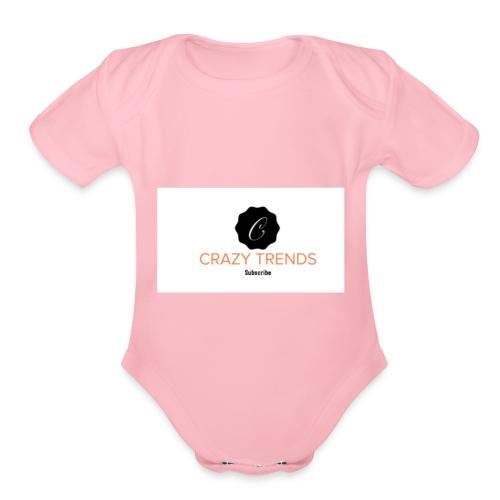 Merchandise store - Organic Short Sleeve Baby Bodysuit