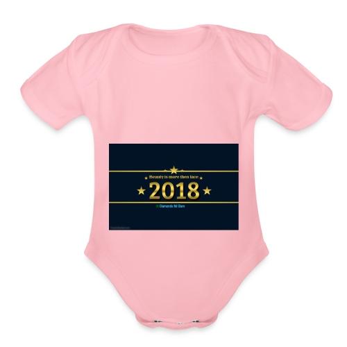 A123D9E2 FE7F 4234 B7BD 30334D90DAEA - Organic Short Sleeve Baby Bodysuit