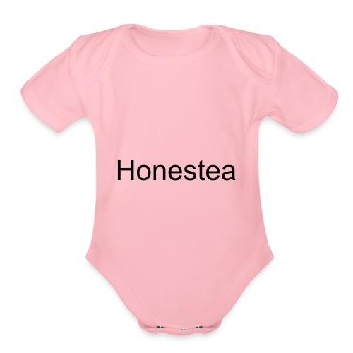 Honestea by SKRT - Organic Short Sleeve Baby Bodysuit