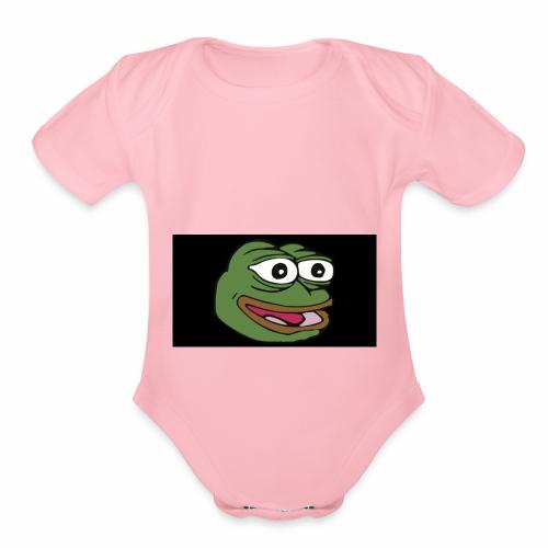 anything anytime - Organic Short Sleeve Baby Bodysuit