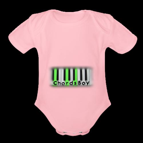 ChordsBoy's Merch - Organic Short Sleeve Baby Bodysuit