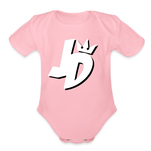 JDMerch - Organic Short Sleeve Baby Bodysuit