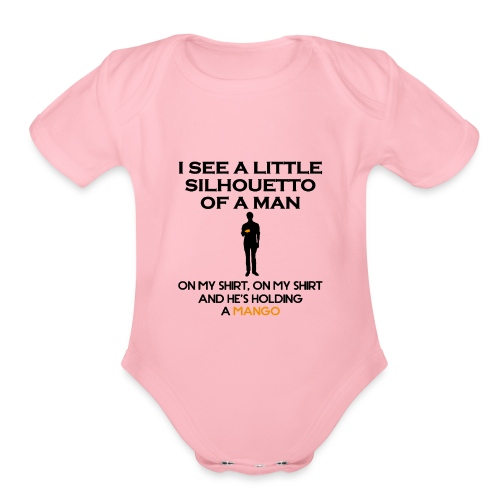 I See a Little Silhouetto - Organic Short Sleeve Baby Bodysuit