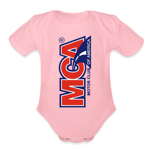 MCA Logo Iphone png - Organic Short Sleeve Baby Bodysuit