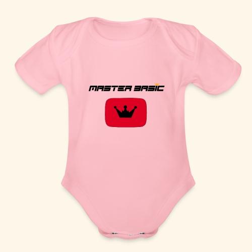 Master Basic - Organic Short Sleeve Baby Bodysuit