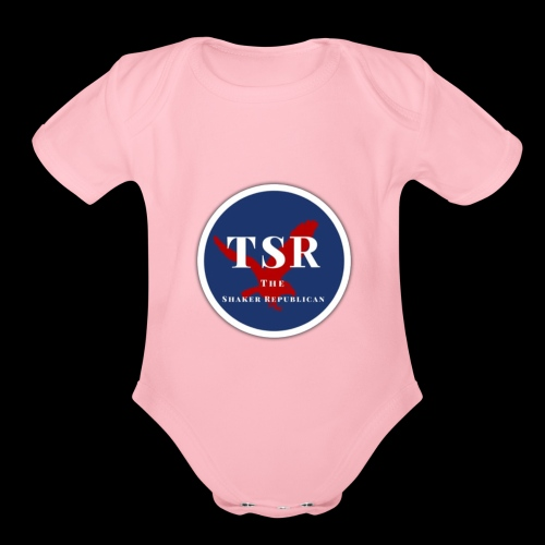 The Shaker Republican - Organic Short Sleeve Baby Bodysuit
