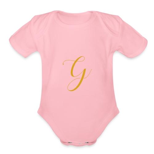 The G - Organic Short Sleeve Baby Bodysuit