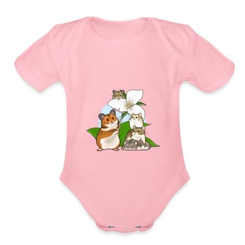 Ontario Hamster Club - Organic Short Sleeve Baby Bodysuit