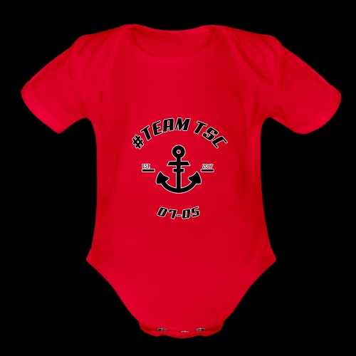 TSC Nautical - Organic Short Sleeve Baby Bodysuit